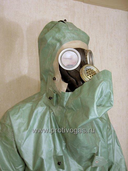 Костюм химзащитный изолирующий КЗИ-2 (аналог легкого защитного костюма Л-1), фотография 10