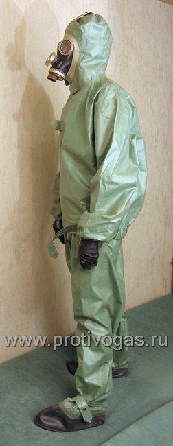 Костюм химзащитный изолирующий КЗИ-2 (аналог легкого защитного костюма Л-1), фотография 8