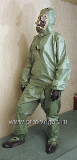Костюм химзащитный изолирующий КЗИ-2, фотография 3