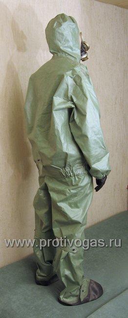 Костюм химзащитный изолирующий КЗИ-2 (аналог легкого защитного костюма Л-1), фотография 11