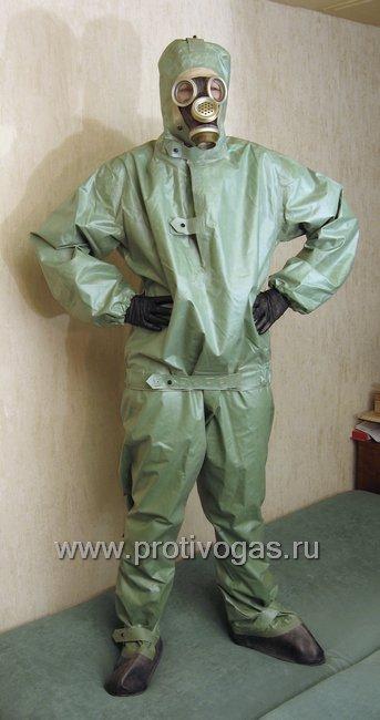 Костюм химзащитный изолирующий КЗИ-2 (аналог легкого защитного костюма Л-1), фотография 1