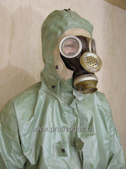 Костюм химзащитный изолирующий КЗИ-2 (аналог легкого защитного костюма Л-1), фотография 12