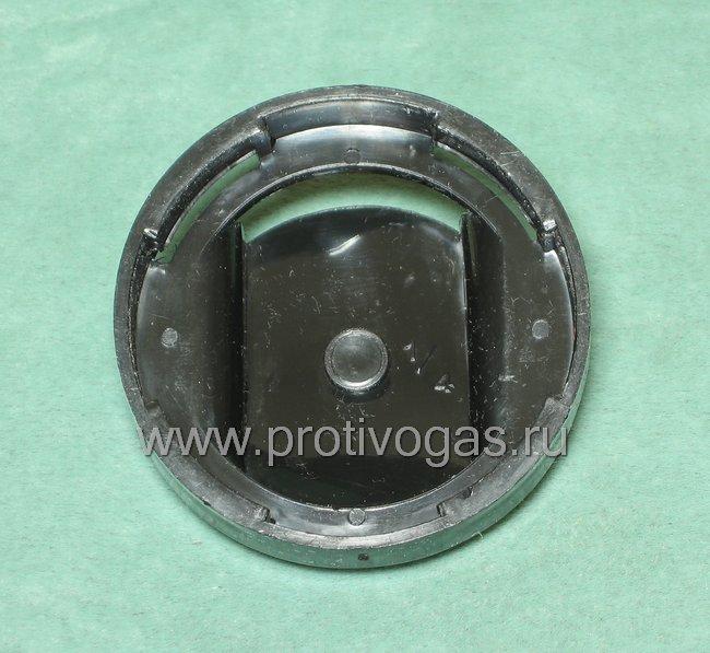 Обтекатель для военного противогаза ПМК-1, ПМК-2, ПМК-3 на клапан вдоха для борьбы с запотеванием очков, фотография 2