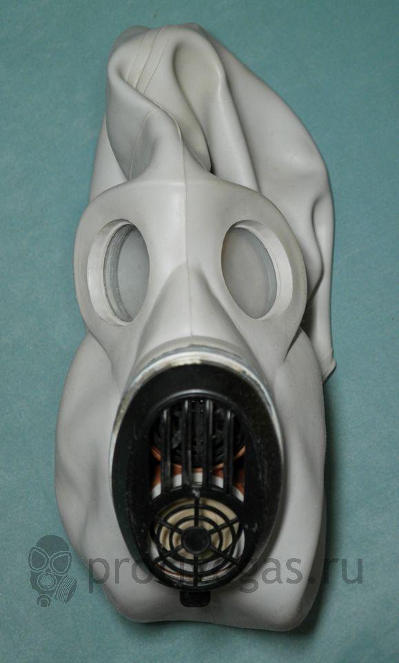 Противогаз ПБФ бескоробочный Хомяк (ЕО19) серый (белый), фотография 3