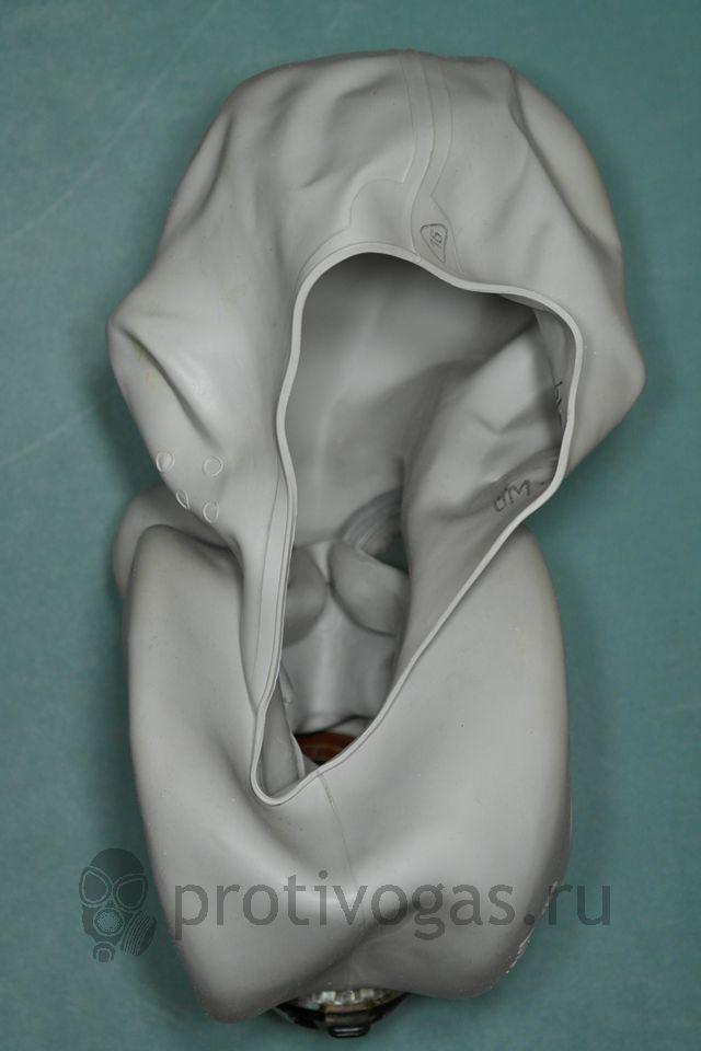 Противогаз Хомяк ЕО-19 бескоробочный ПБФ белого цвета маска, фотография 4