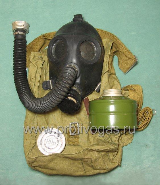 Противогаз детский школьный ПДФ-2Ш для детей от 4 до 10 лет, фотография 1