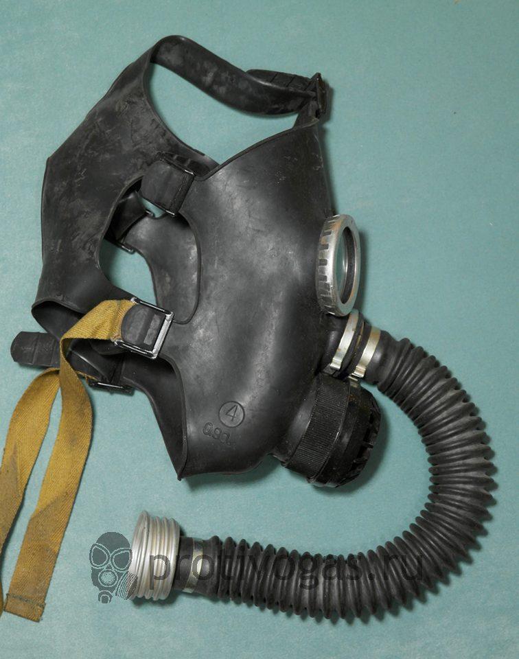 Детский противогаз ПДФ, для дошкольников и младших школьников, маска черного цвета, фотография 3