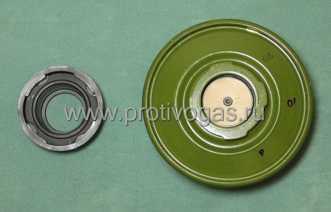 Резьбовой адаптер для фильтров к противогазам ПМК-2, ПМК-3 (фильтр на защелках), фотография 3