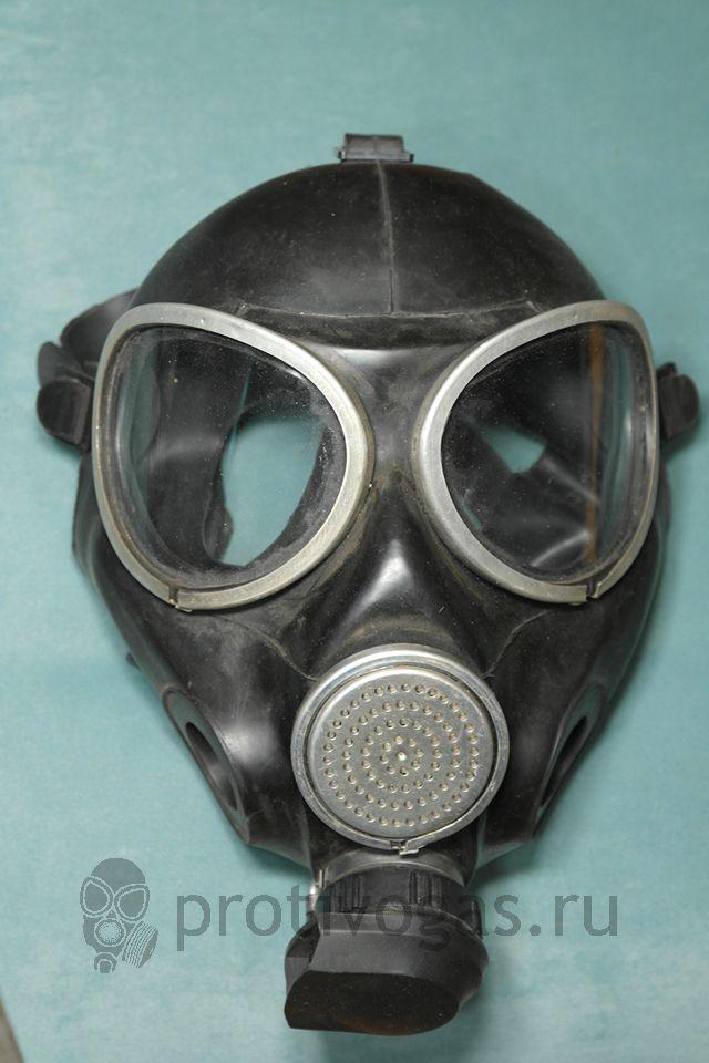 Противогаз ПМК-3, маска, фотография 1