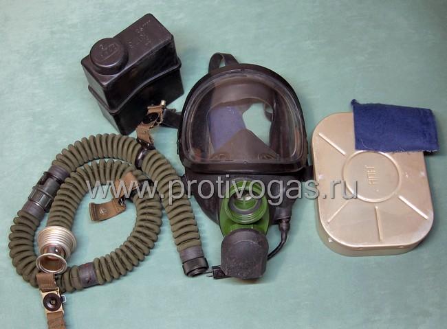Противогаз армейский ПФЛ панорамный, фотография 4