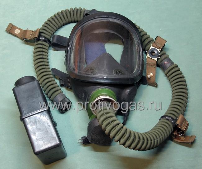 Противогаз летный ПФЛ армейский, фотография 5