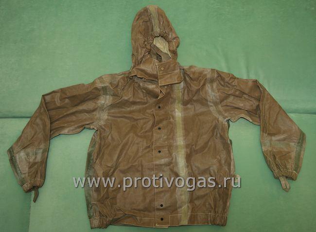 Куртка защитная промышленная для костюма химзащиты тип 611, фотография 1