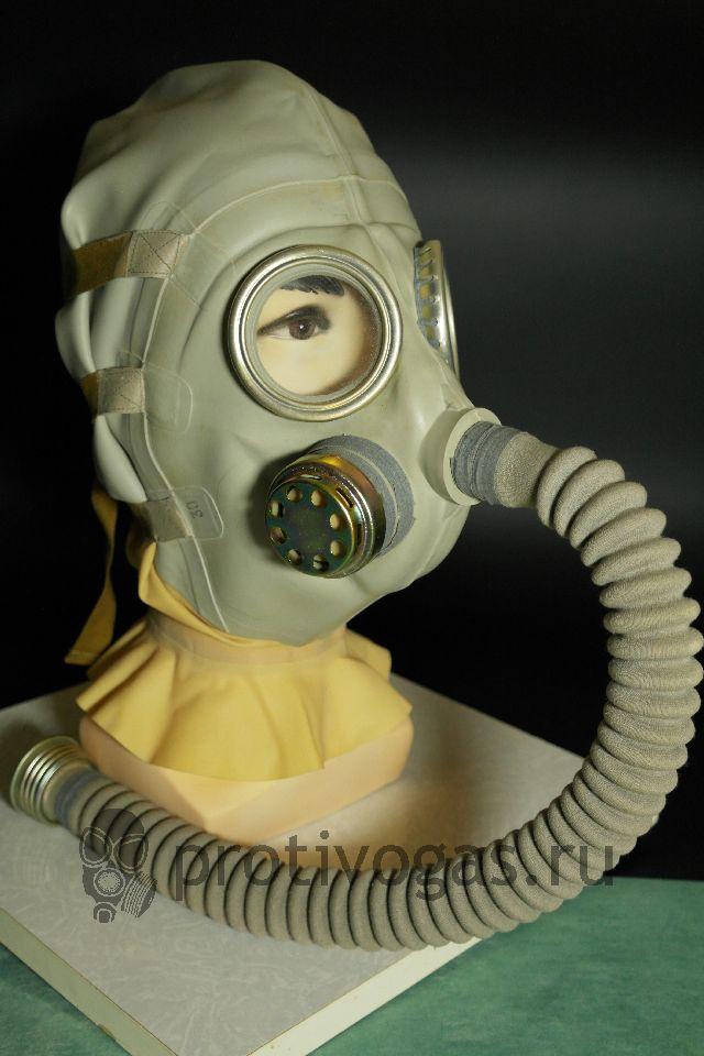 Противогаз ШР-2 Противогаз (Шлем) для раненых в голову, фотография 2