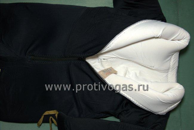 Комбинезон утеплитель для изолирующих гидрокостюмов. Комбинезон с носками и шлем, фотография 4
