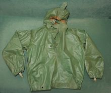 Куртка от защитного изолирующего костюма КЗИ-2