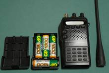 Рация портативная (портативка) Kenwood TK-308 диапазона 70 см (UHF, 400 - 430 Мгц)