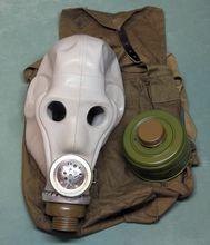 Военный противогаз ШМС (шлем-маска специальная)
